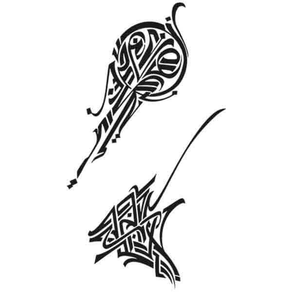 Pochoir Tatouage Temporaire Huito