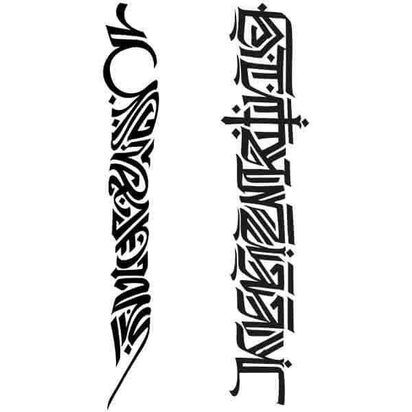 Pochoir Tatouage Temporaire Nandipa
