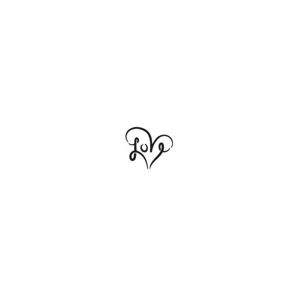 Pochoir Tatouage Temporaire Coeur
