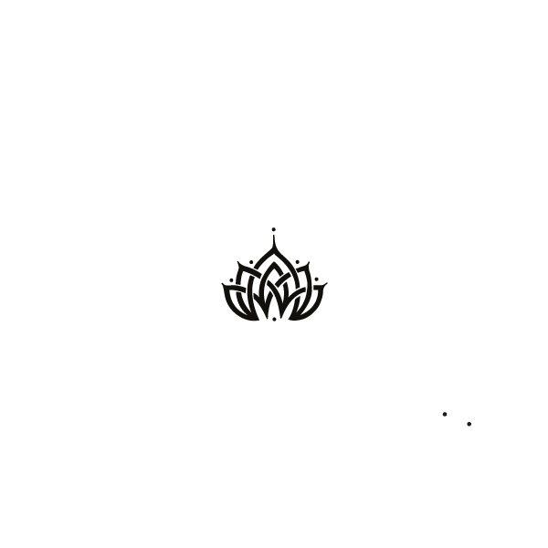 Pochoir Tatouage Temporaire Lotus