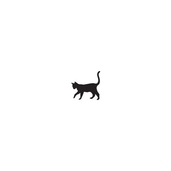 Pochoir Tatouage Temporaire Meow