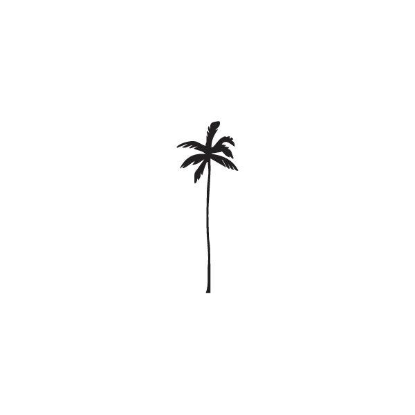 Pochoir Tatouage Temporaire Palm