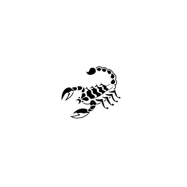 Pochoir Tatouage Temporaire Scorpion