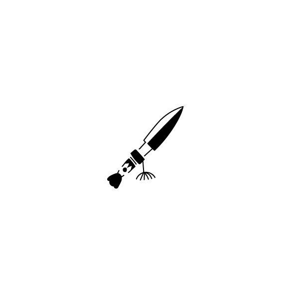 Pochoir Tatouage Temporaire Coutelas